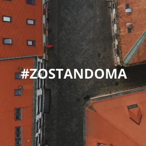 Vyľudnená Bratislava zachytená dronom DJI Mavic 2 Pro #zdronu