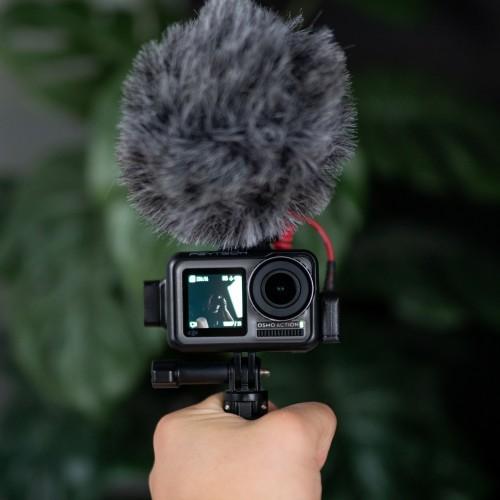 Ako pripojiť mikrofón ku kamere DJI OSMO ACTION?