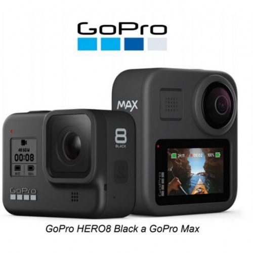 Predstavujeme kameru GoPro HERO8 Black, GoPro MAX a nové modulárne príslušenstvo